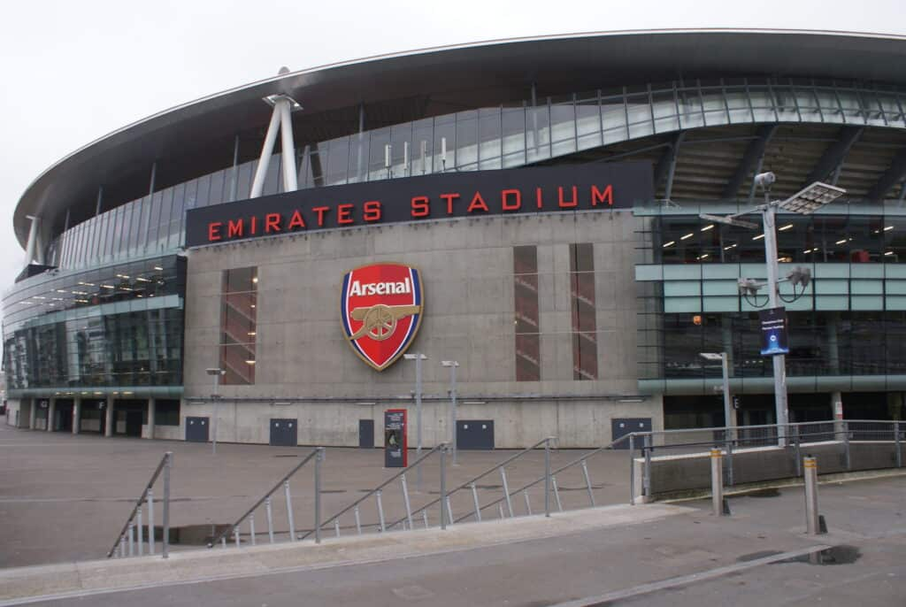 london emirates stadion arsenal football club