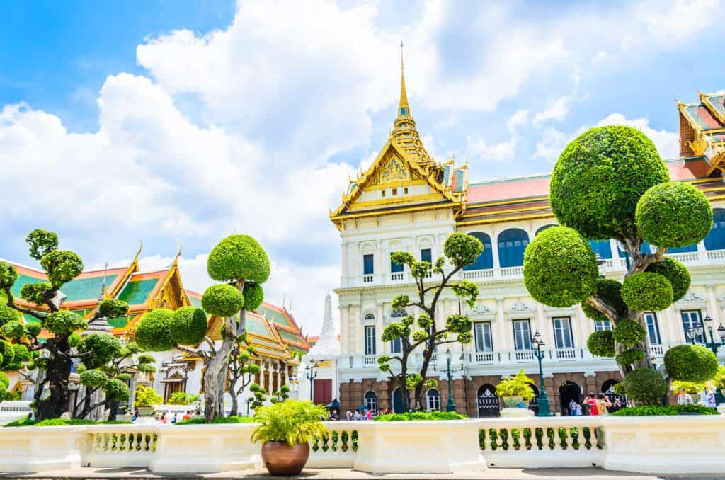 grand palace i bangkok thailand