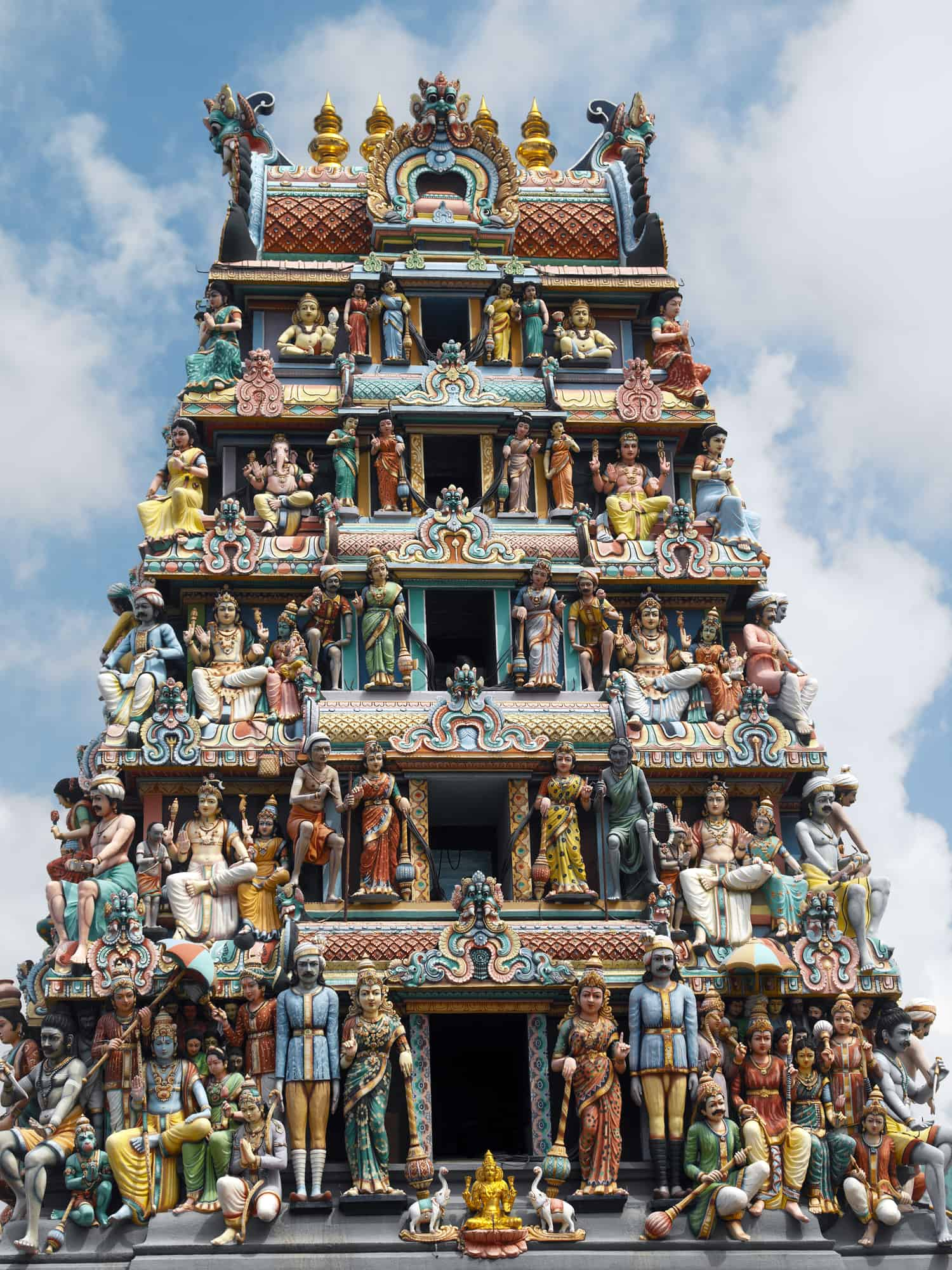 hindu templet sri mariamman i singapore