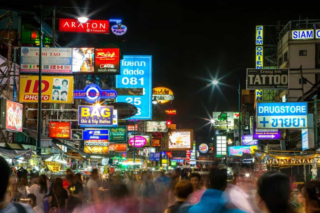 khao san road i bangkok thailand