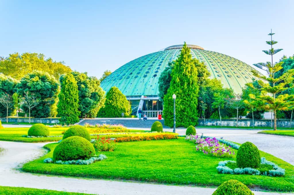 krystalpalads haven i porto jardim do palacio de cristal