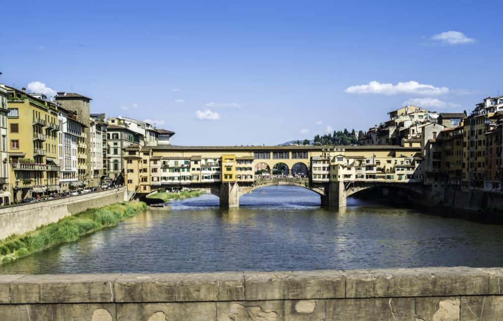 ponte vecchio broen i firenze