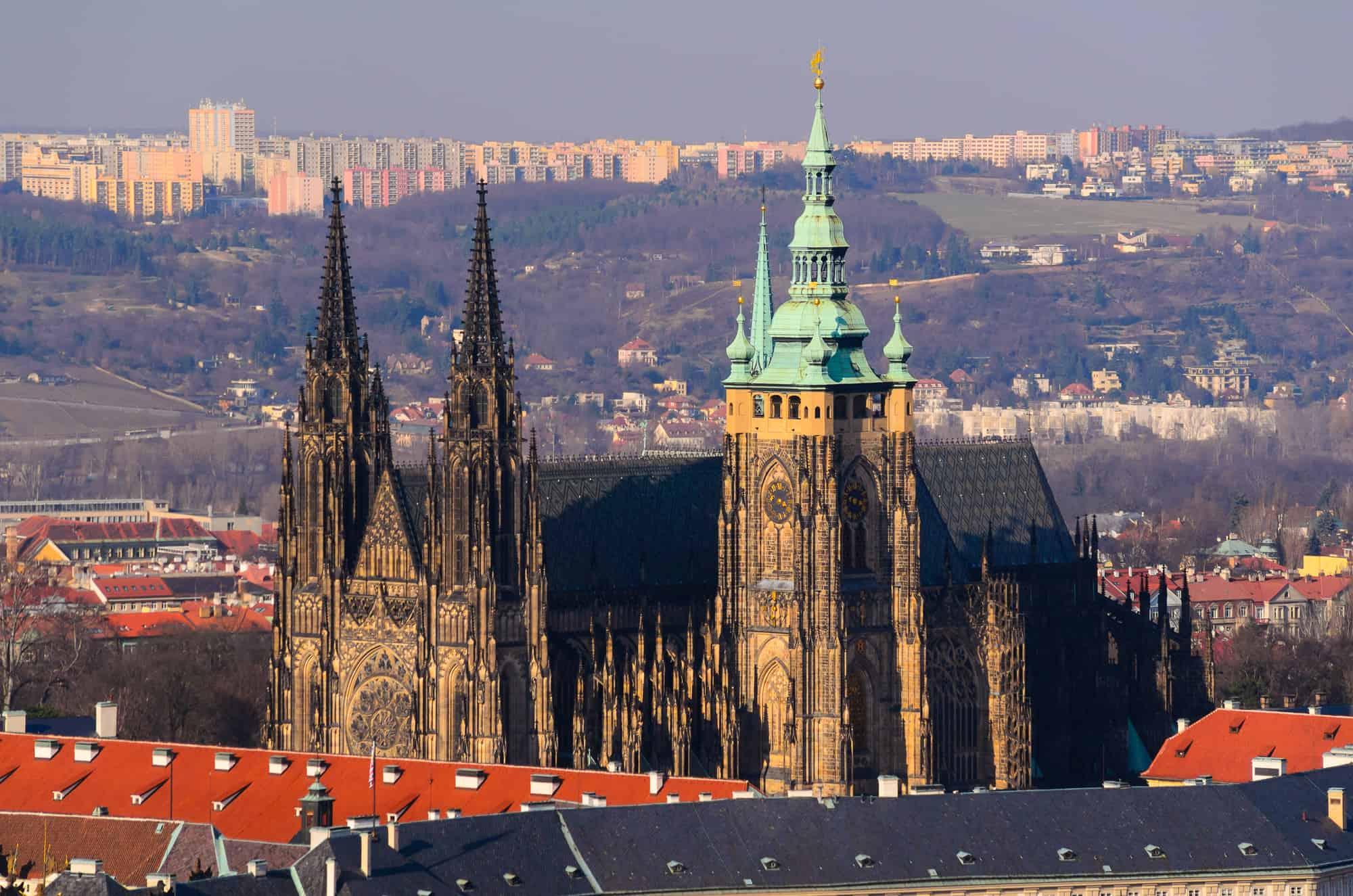 prag borg i tjekkiet
