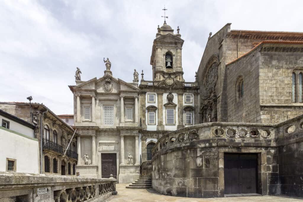 sao fransiscos kirke i porto i portugal