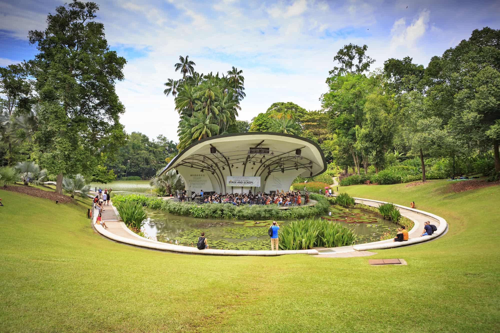 singapores botaniske have the singapore botanic gardens