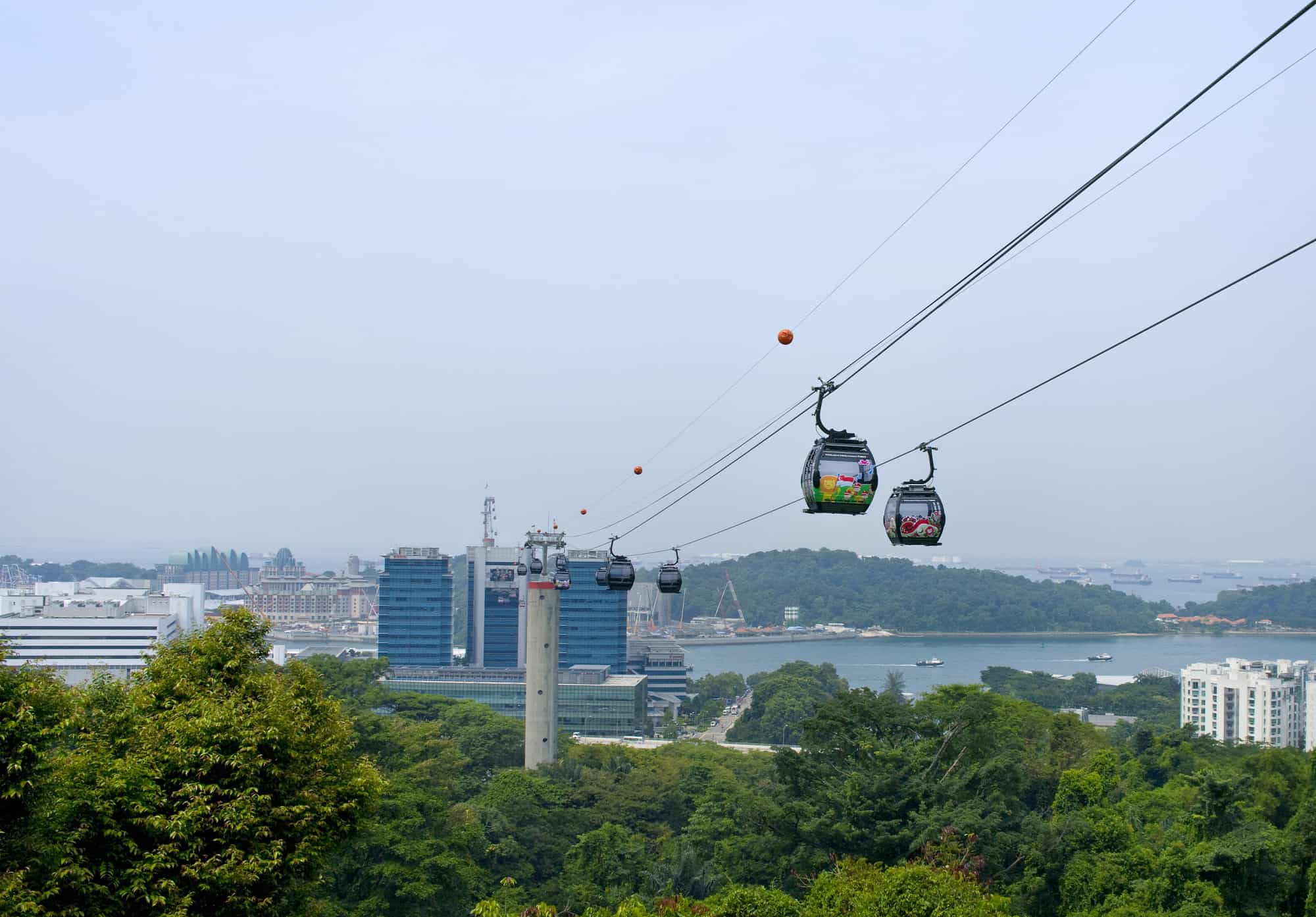 svævebanen singapore cable car