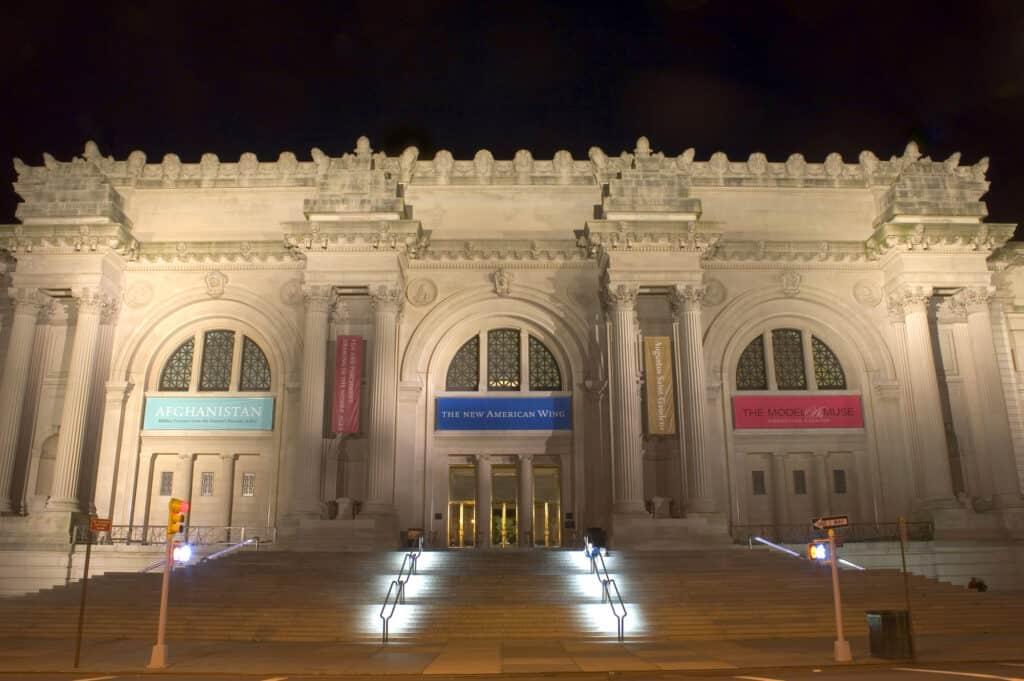 the metropolitan museum of art i new york også kaldet the met hvor der hvert år holdes en meget omtalt gallafest