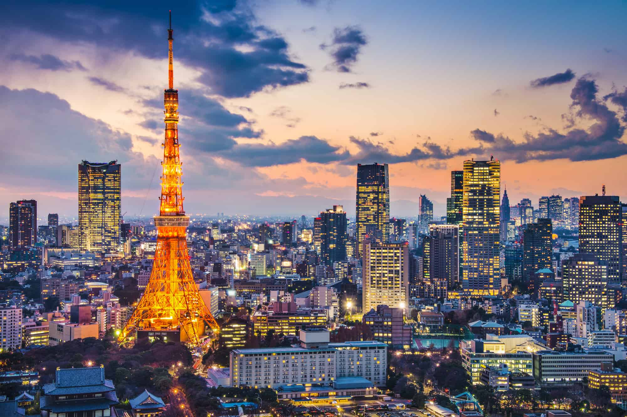 tokyo tower i tokyo