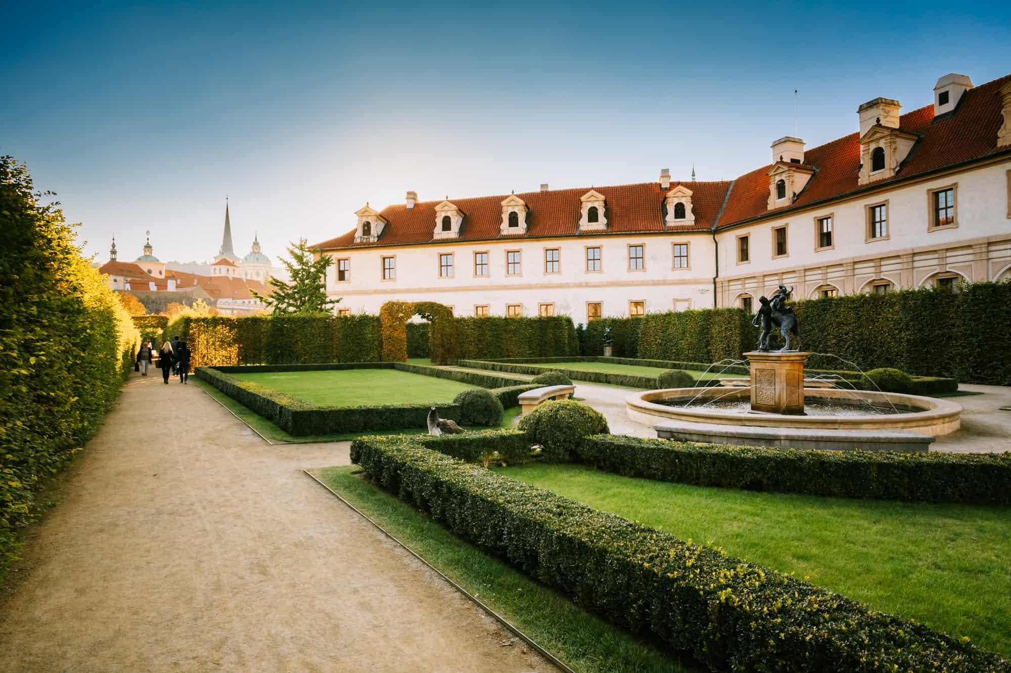 wallenstein palads og have i prag