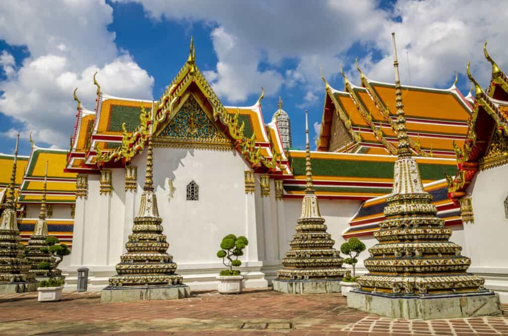 wat pho templet med den store buddha statue